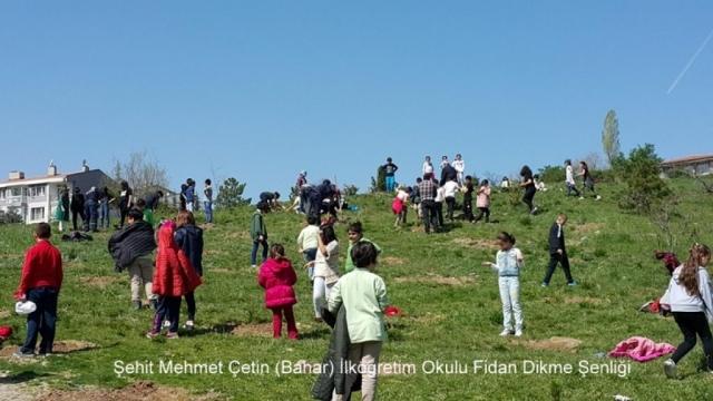 Şehit Mehmet Çetin İlkokulu Ağaç Dikme Şenliği 1523000134 763 1024x576