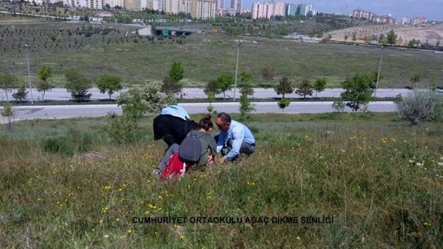 Cumhuriyet Ortaokulu Ağaç Dikme Şenliği 1524827278 964 1024x576